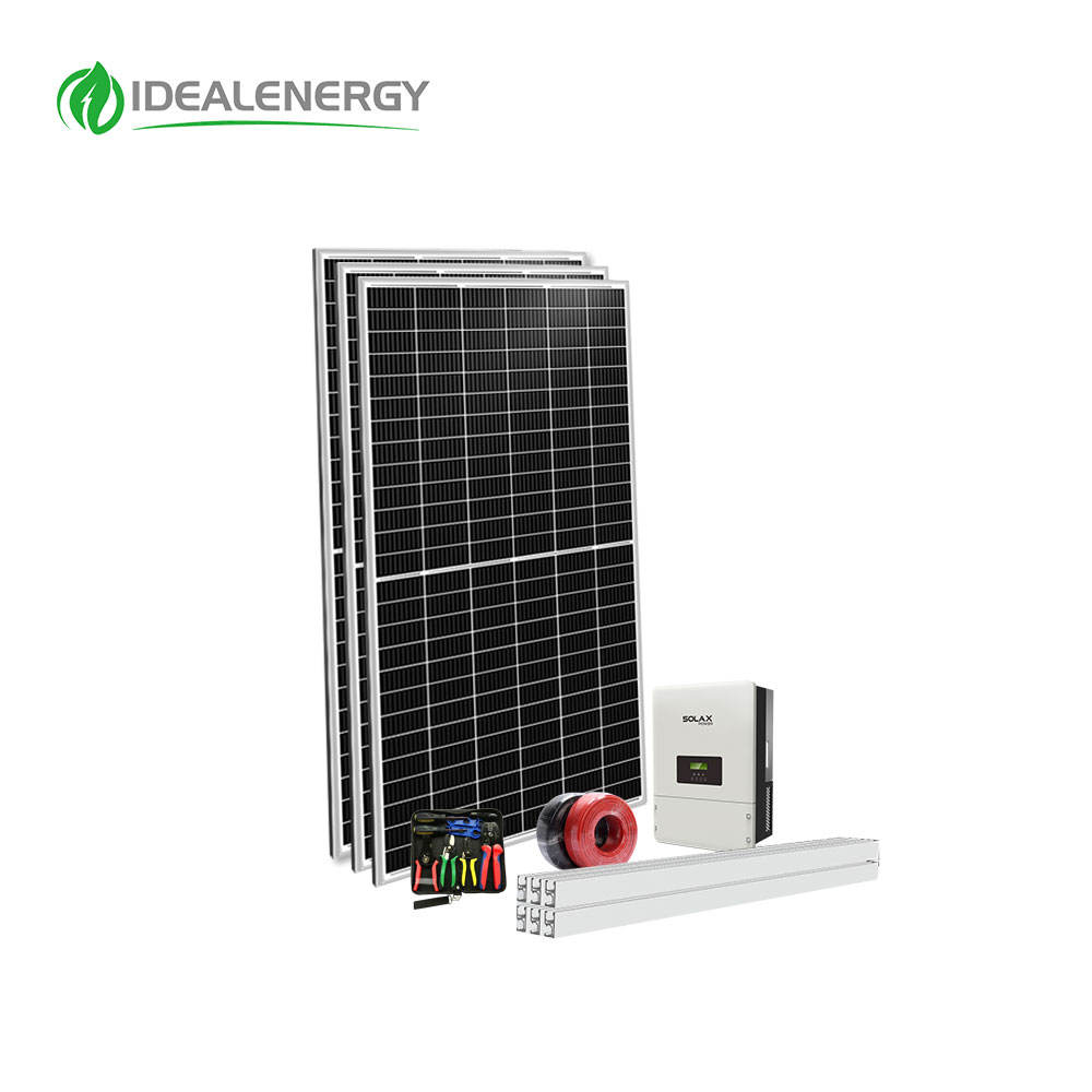 Wholesale Price Single Phase 220 Volt Grid Tied 1KW 2KW 2000W 2 KW 3KW 4KW On grid Solar Power System For Home