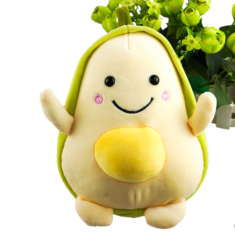 Custom Avocado Stuffed Plush Animal Doll Plush Toys Manufacturer Custom Plush Toy