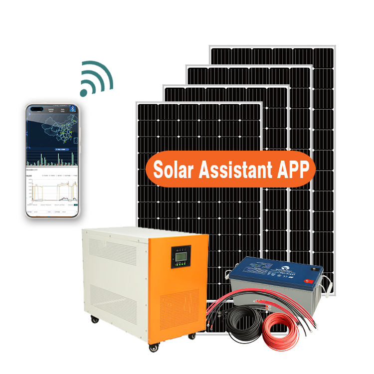 Solar Energy System for Home projects 3KW 5KW 10KW Off Grid Solar Panel Power 1000W With Storage Batteries