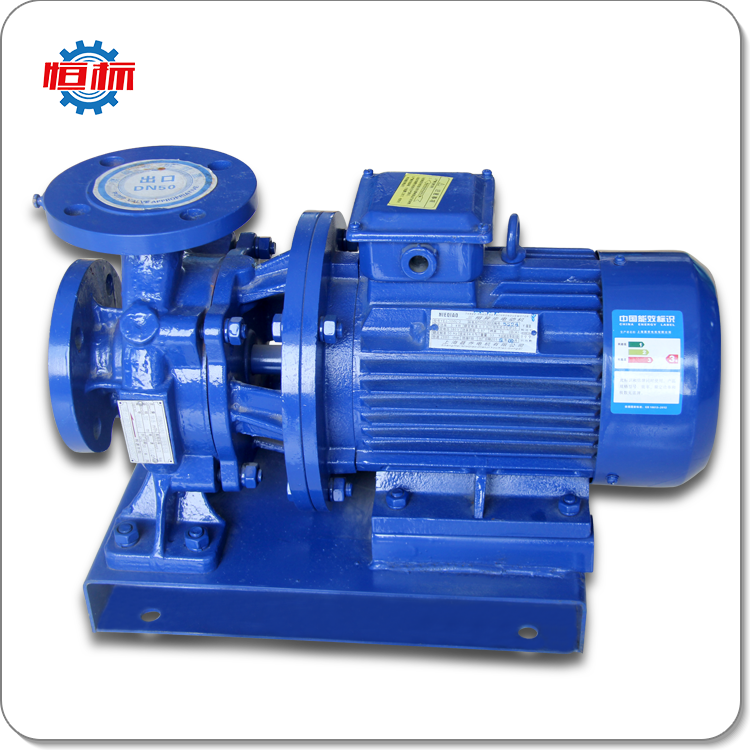 ISW horizontal electric Water pumping machine centrifugal water pump