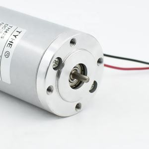 Factory direct wholesale D42mm 12v 50w water proof electric dc motor for car brake