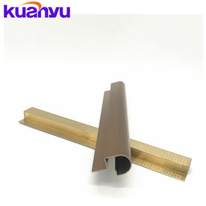 304 Stainless Steel home furniture accessories Rectangle tile trim decoration for interior use