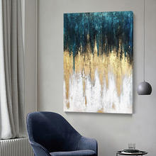 Wholesale hot sale abstract painting canvas wall art oil painting set and canvas-painting for home decor