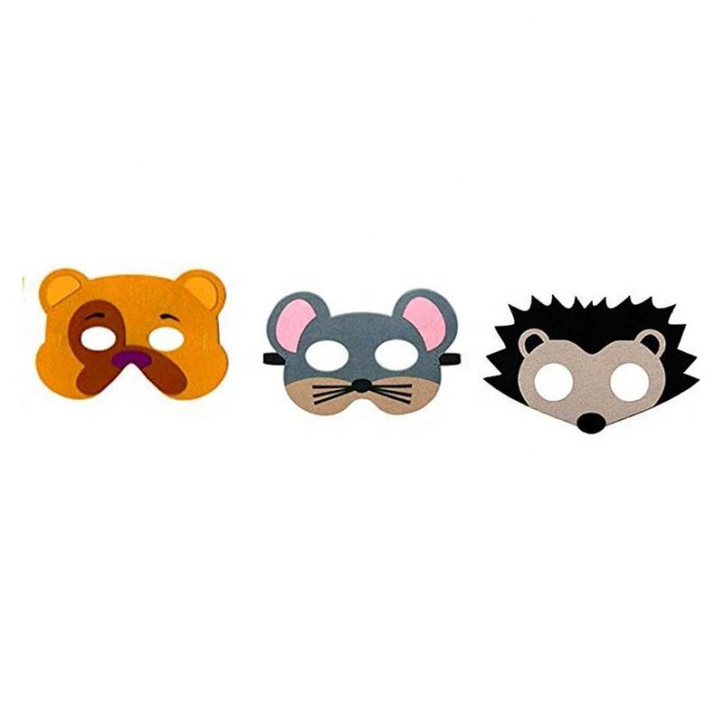 Anime Cosplay Eye Mask Party Halloween Felt Mask Animal Mask Theme Birthday Party Costumes Cosplay Supplies for Kids Cosplay