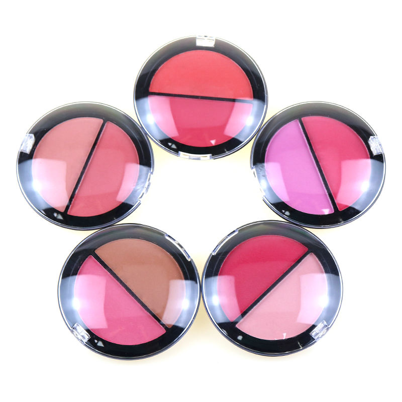 Hot Selling Waterproof Private Label Blusher Long Wear Makeup Blush Case