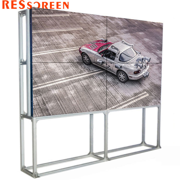 32 Inch 46 47 49 55 3.9 Mm LED Harga 2X6 Video Wall LCD