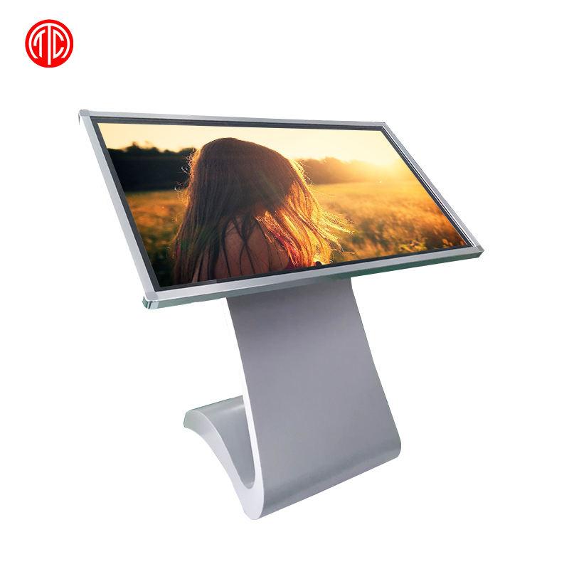Chiosco Interattivo Touch Screen Totem Internet Multimedia 43 &quot;Wifi Freestanding Digital Signage <span class=keywords><strong>Lcd</strong></span> Pannello di Visualizzazione di Pubblicità