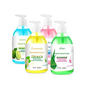 8.45 FL OZ Colorful Color Hot Sale Detergent Washing Liquid Hand Soap For USA