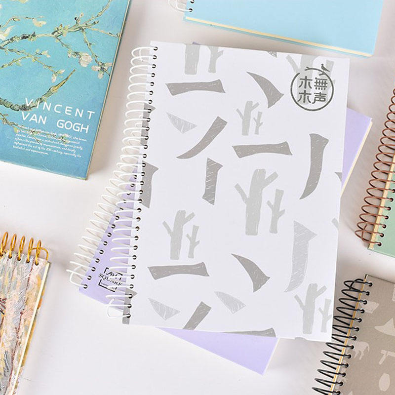 Back-to-school Promotion Diary/Week planner/Exercise School Paper Spiral Coil Notebook