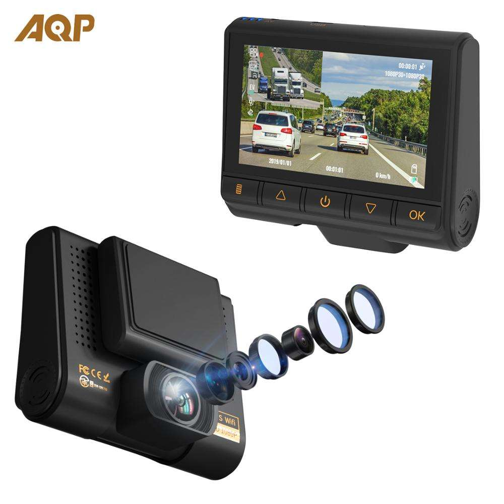 High Tech Ltd VG-MT-S Shenzhen Motorbike Camera Motorcycle DVR System Dual Lens HD1080P Front Camera and 720P Rear Camera 3 inch LCD Displayer VG