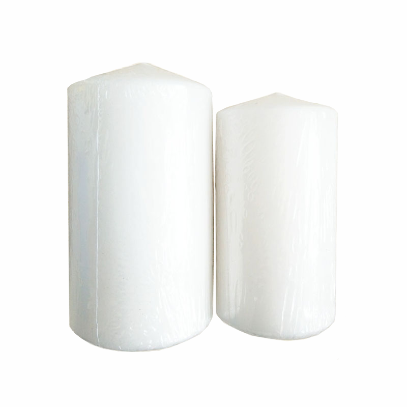 Cheap White Candle Unscented Scented Pillar Candles from Factory