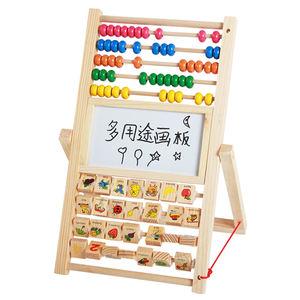 BDJ Hotsale Early Intelligence Baby Educational Toys Wooden Black  White Drawing Board Toys