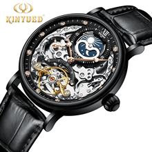 KINYUED Classic Watches Men Luxury Brand new arrival Automatic Mechanical Wristwatches