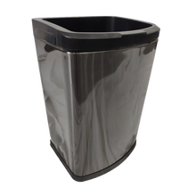 8L Small Plastic Trash Can Bin for Household Living Room Use