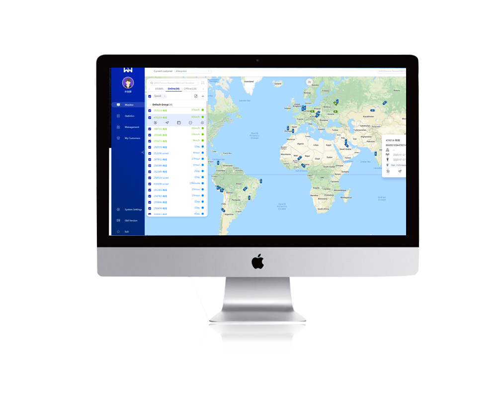WanwayTech Best Tracking Platform WanWayTrack Professional GPS Tracking Software Device System