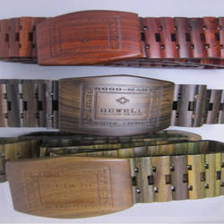 custom wooden belts personalized made in china gift wholesal