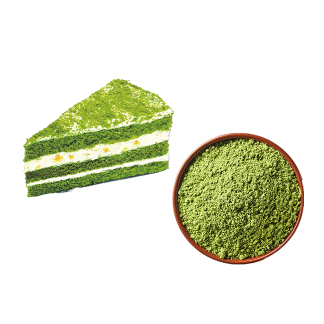 organic Low calorie matcha green tea powder price per kg DIY drinks for family