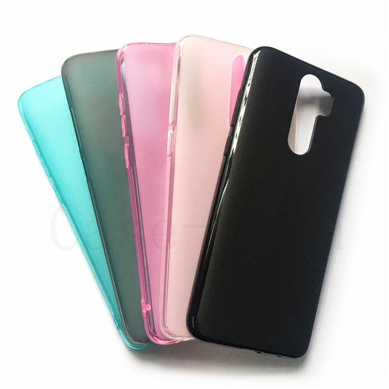 Soft TPU mobile cell Phone Case cover for Xiaomi Redmi Note 8 pro case, frosted Pudding case for Xiaomi Redmi Note 8 Pro
