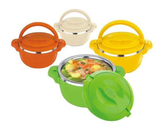 Colorful cookware stainless steel hot pot casserole design