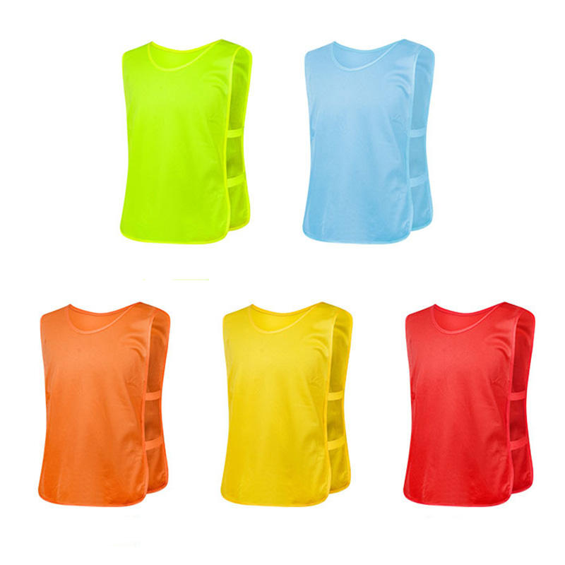 ActEarlier team training scrimmage mesh vests football basketball youth adult kids pinnies bibs for activities