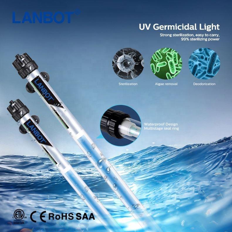 Di Động Độ Bền UVC Khử Trùng Đèn/Tia Cực Tím UV Khử Trùng Đèn