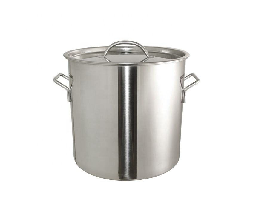 Stainless Steel Soup Pot / Stock Pot For Cookware