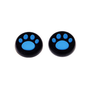 Silicone grips per PS5/PS4/PS3/X1 Blu thumbstick grip cat footprint