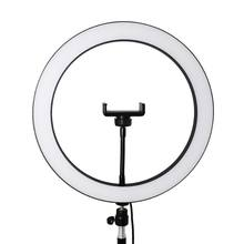 Makeup LED Ring Fill Light Kit with Tripods Stand For Live Streaming YouTube Video Production Photography Online Teaching