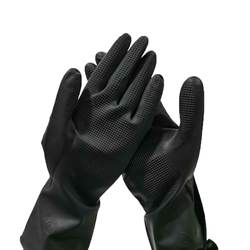 wholesale black  latex gloves household cleaning