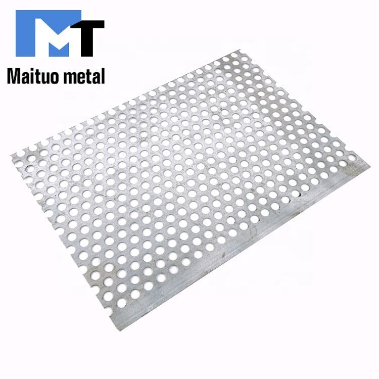 2mm stainless steel perforated decorating metal wire mesh screen sheet for furniture