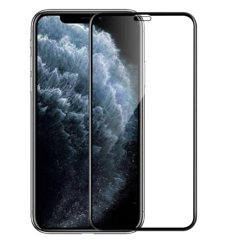 New 6D Resin Curved Full Glue Tempered Glass For Iphone 11 Pro Max Screen Protector