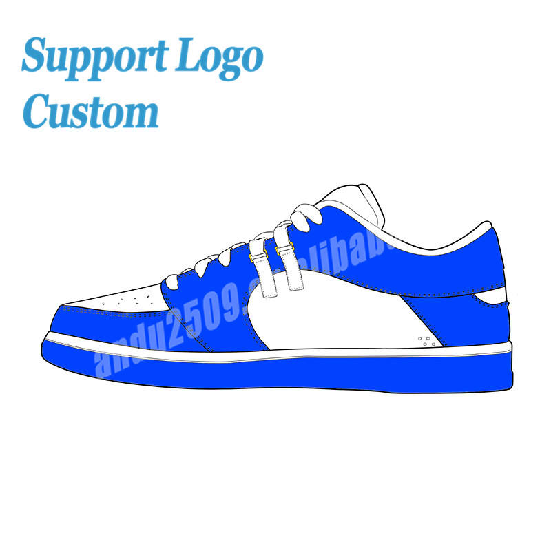 Custom brand shoes fluorescence leather air trainers sneakers retro running shoes for men women