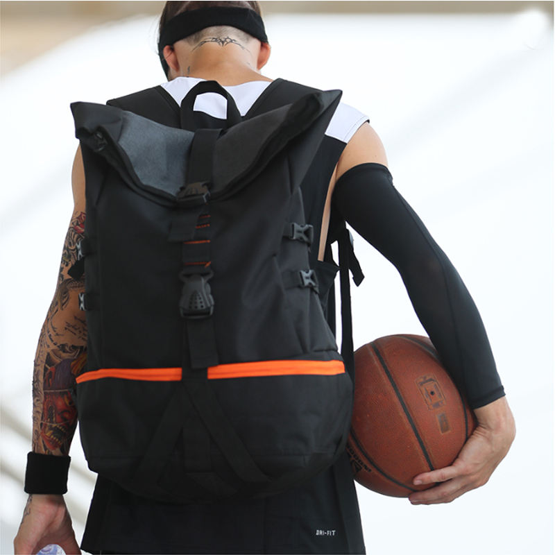 2020 Creative custom comfortable sports bags shape gym backpack basketball bag