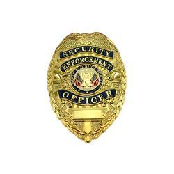 Custom Security Officer Metal Badge Maker