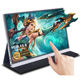 Factory wholesale 15.6touchscreen FHD1080p external 2k portable monitor gaming screen for phone laptopPC switch PS4 xbox