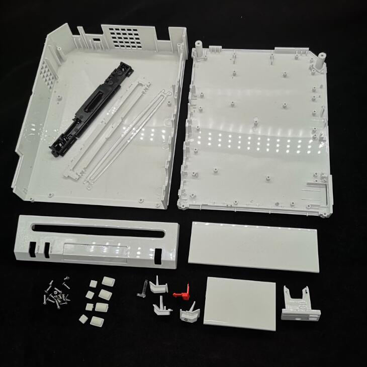 Behuizing Shell Voor Nintendo Voor Wii Console Vervanging Outer Shell Behuizing-Wit