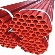 Red Painted Groove End Fire Fighting Steel Pipe