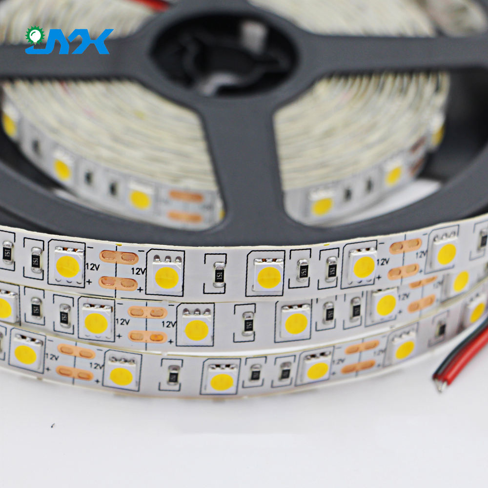 5m/Roll China led light 12v 5050 flexible led strip