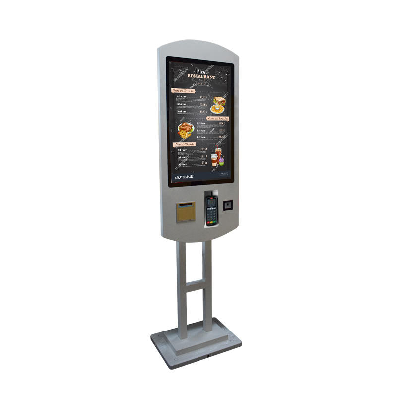 Hot Sale Self Service Fast Food Kiosk Restaurant