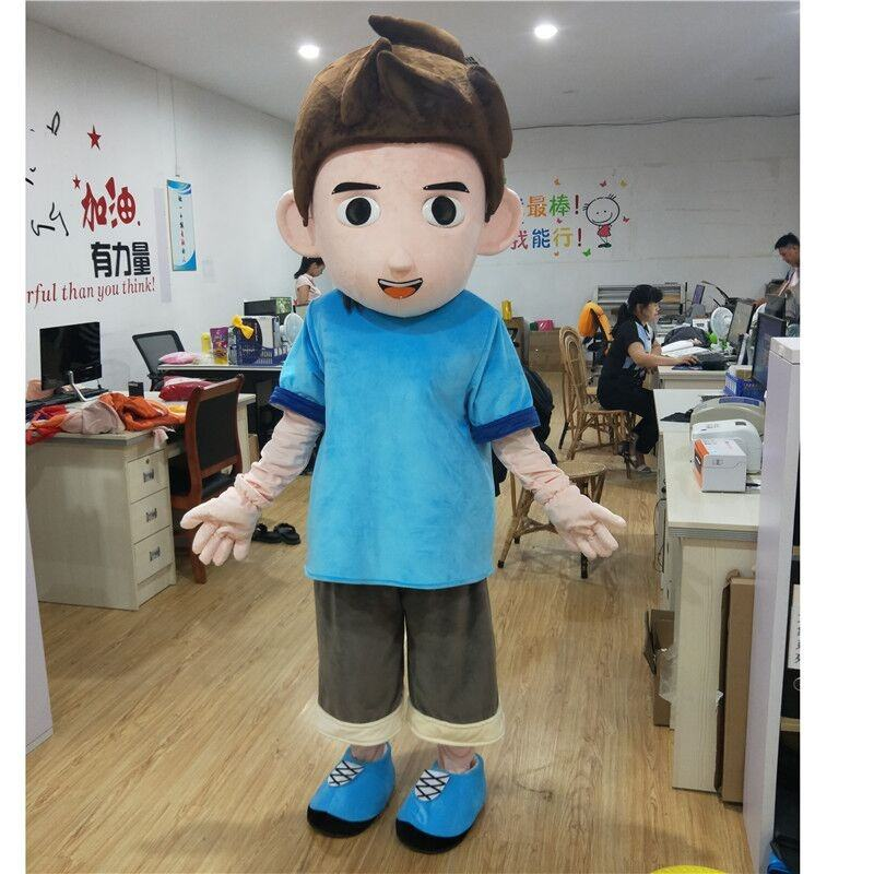 China factory direct sell customized anime boy mascot costume for adult