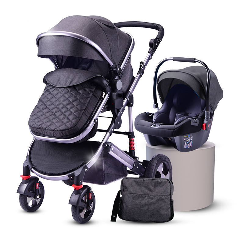 2020 european baby stroller buy from China manufacturer/luxury prams 3 in 1 with car seat/hot mom fashion baby trolley for sale