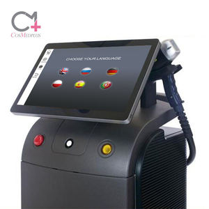 Germany Bars alma soprano ice platinum 808nm diode laser hair removal 808 diodo depilation facial beauty salon machine equipment