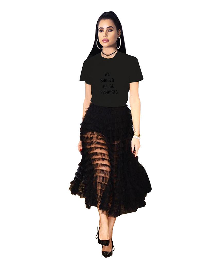 Fashion Wholesale hot selling Plus Size women blouses Sexy Shirt Tube Trend Tunic Sheer