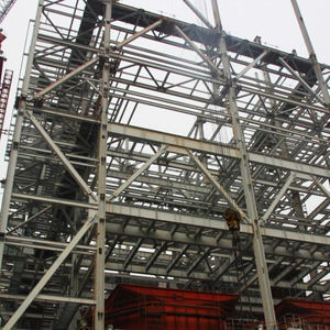 Hot sale good quality from China Steel frame steel structure fabrication