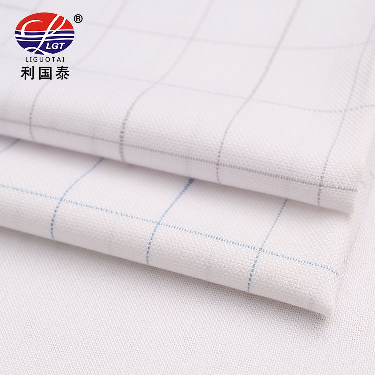 fashion business shirting yarn dyed fabric 48 bamboo 48 microfiber 4 cotton for men or women
