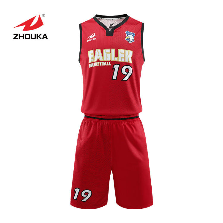 The cheapest new basketball suit of zhouka 2021 is designed to be comfortable, breathable and fast dry