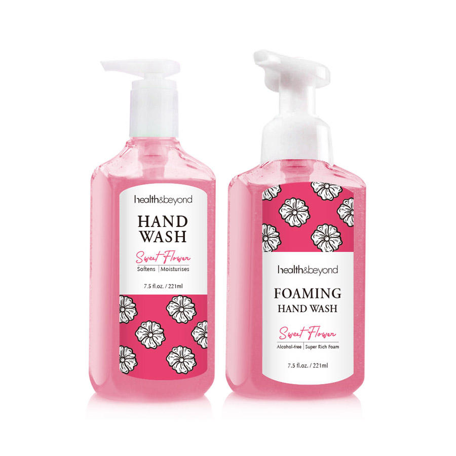 221ml High effective Alcohol Free Antibacterial Foaming Liquid Hand Wash Soap