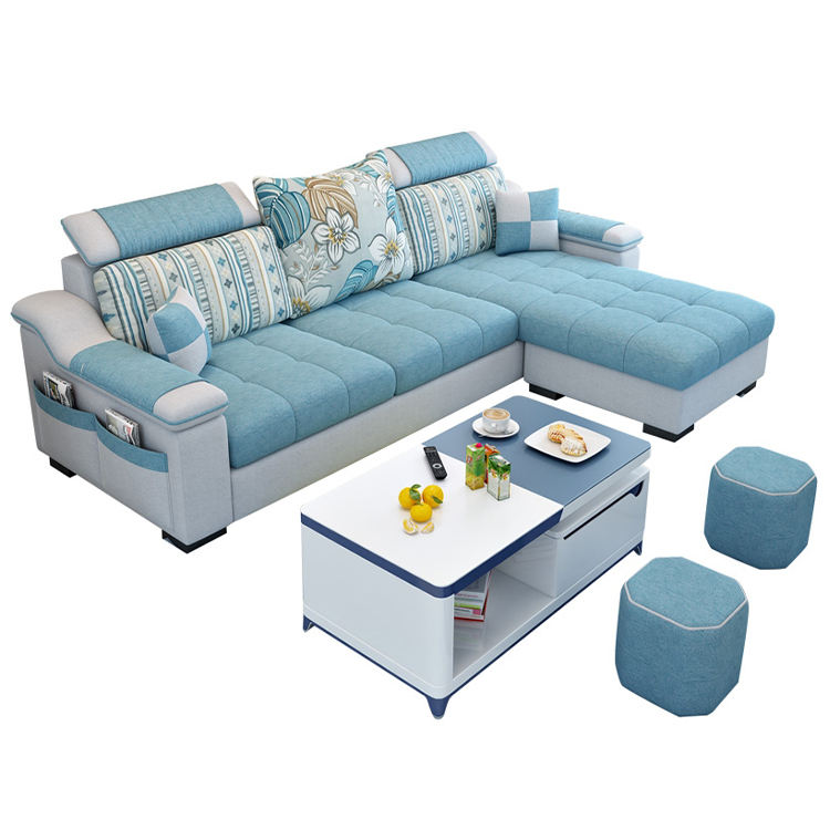 Furniture Factory Provided Living Room Sofas/Fabric Sofa Bed Royal Sofa set 5 seater living room Furniture designs