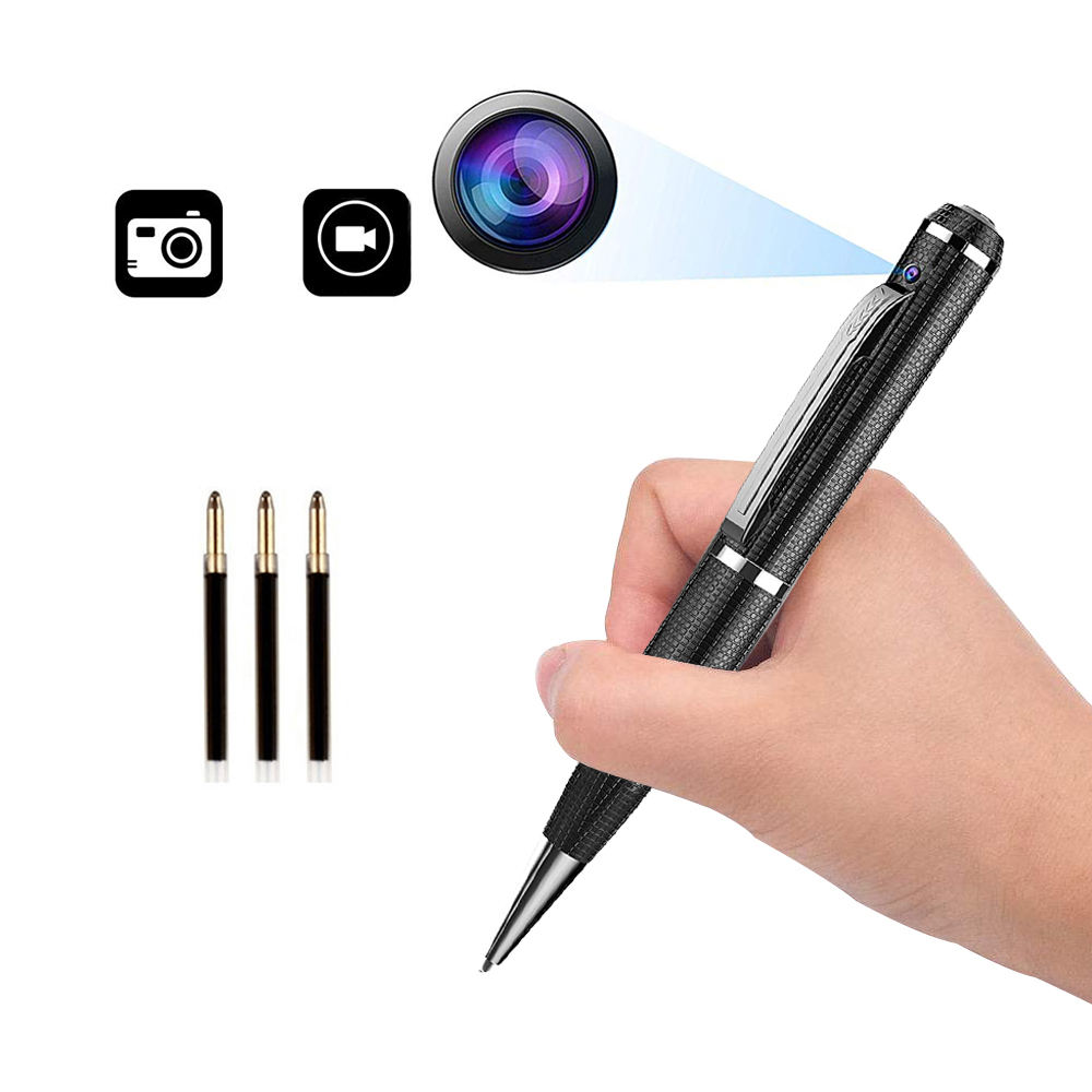 QZT spy camera pen 1080p mini camera hidden wireless outdoor security camera