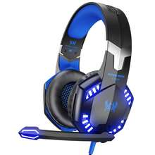 Kotion Each G2000 USB PC Stereo Wired Gaming Headset Gamer Headphones with MIcrophone for PS4